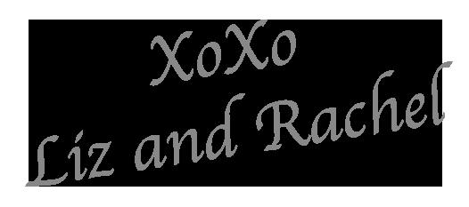 Liz and Rachel Signature