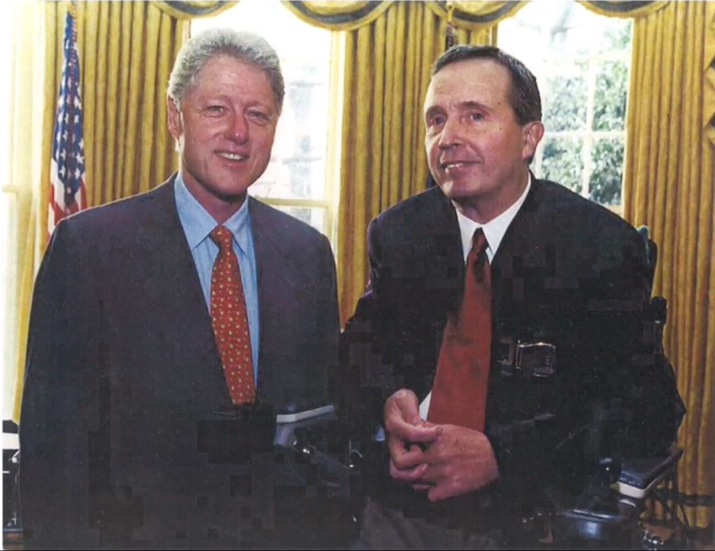 Dr. Richard Edlich Bill Clinton