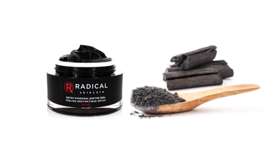 NEW – Detox Charcoal Enzyme Facial Peel